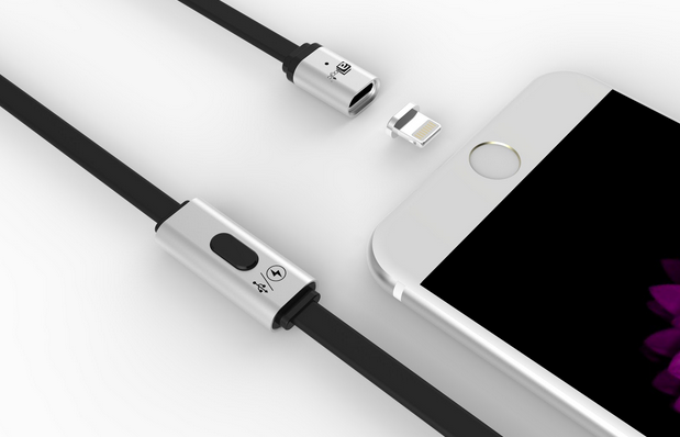 MagCable - $12 Magnetic Cable and Adapter Makes Charging Easier