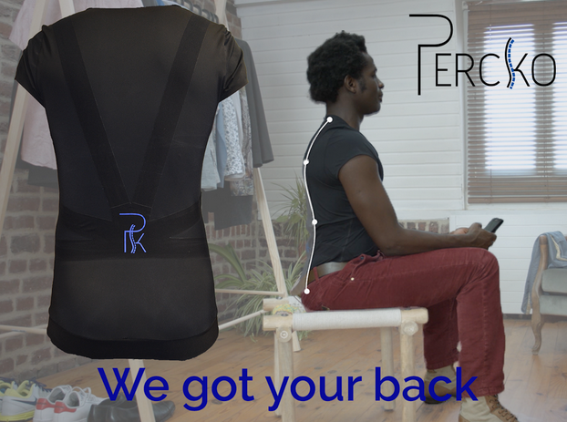 Percko - wear it and get perfect posture