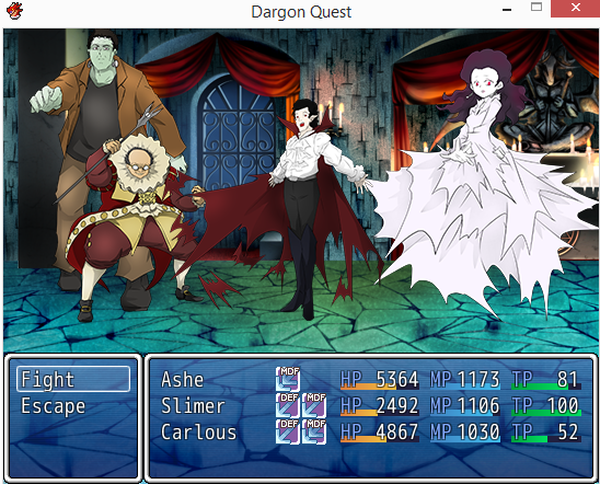 Humor is a big part of the game. There are many pop culture references in Dargon Quest.