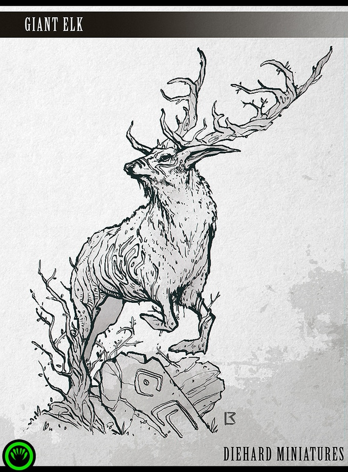 Giant Elk - Miniature Coming Soon!