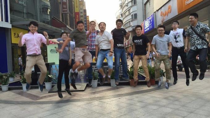 MYNT team selfie picture taken by MYNT