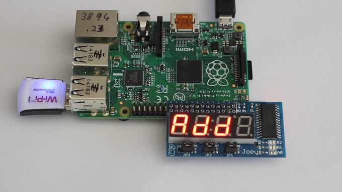 Joey A Quot Sidecar Quot Led Display For Raspberry Pi By David