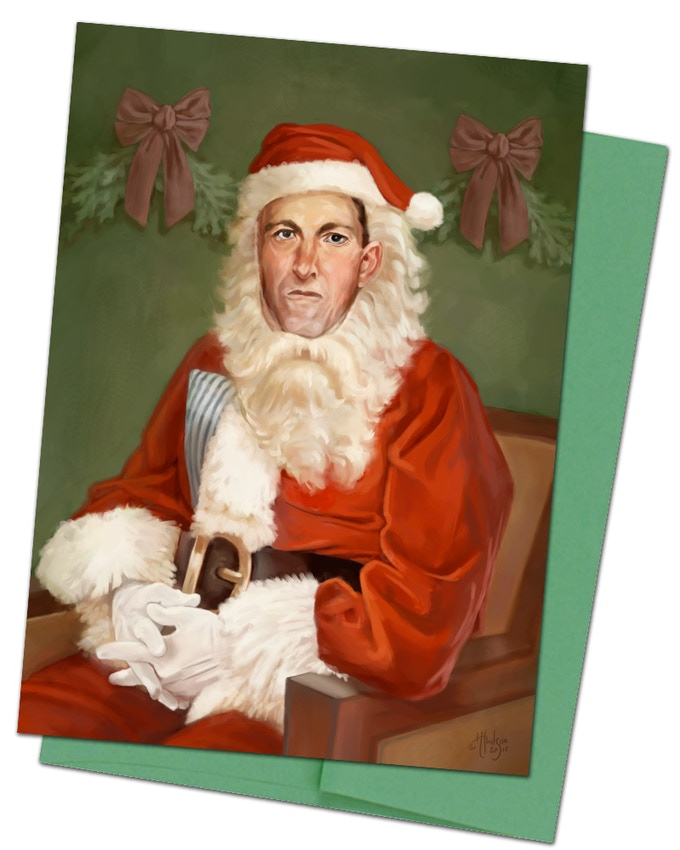 Card #2 Lovecraft Claus
