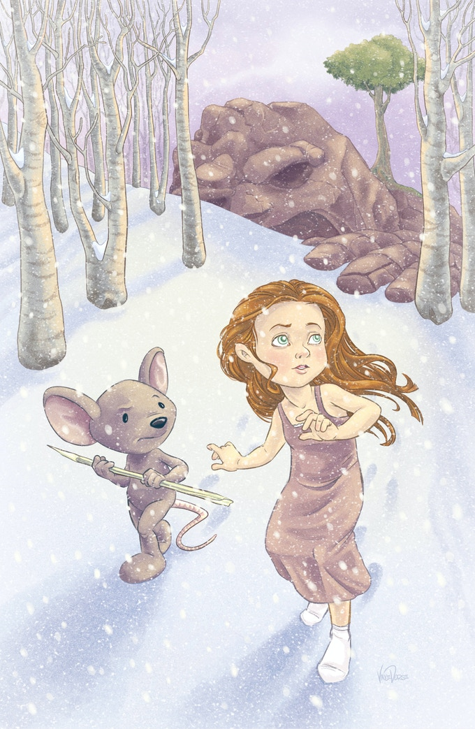 Print by Vince Dorse (Untold Tales of Bigfoot)