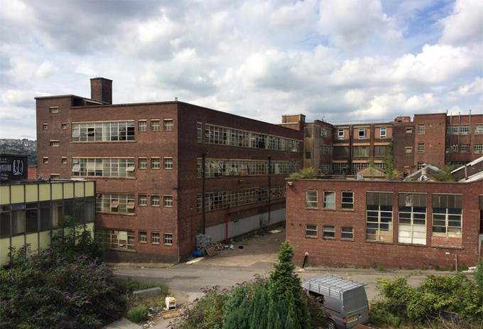 Old Factory in Sheffield