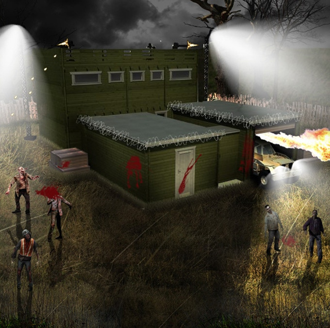 Zombie Fortification Cabin (ZFC-1) - This image is just a prototype