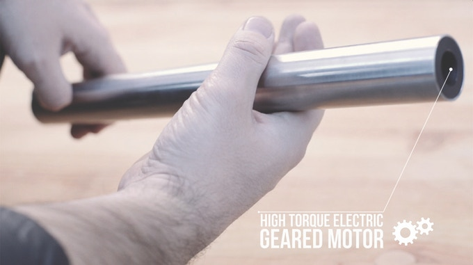 An advanced geared motor system that fits in your pocket