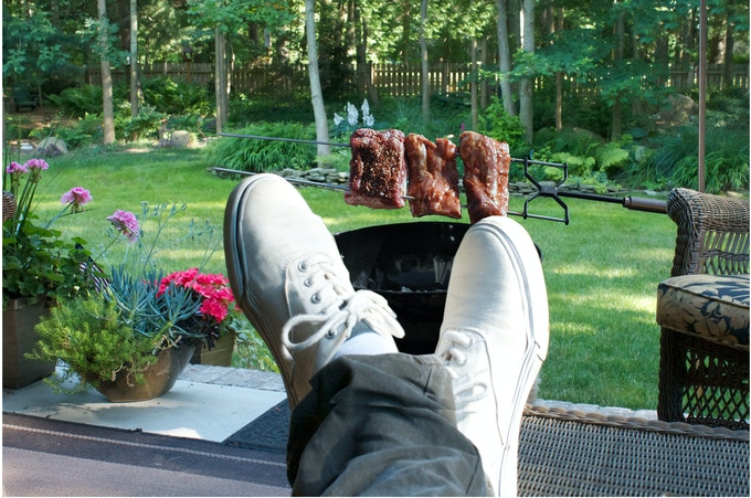 RELAX....and let the KANKA Grill do the job!