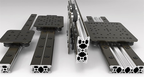 Open Rail Open Source Linear Bearing System By Mark Carew