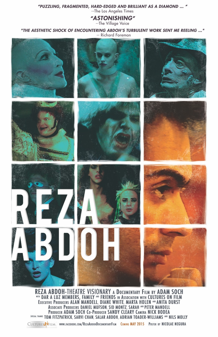The impact of wunderkind theatre director Reza Abdoh's explosive work is finally brought to light twenty years after his death of AIDS, with live performance footage and interviews with those closest to him.
