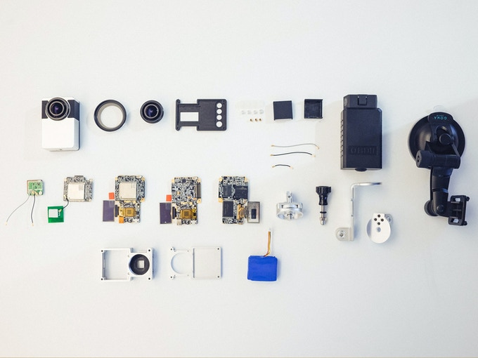 Internal Components of Second Generation Prototype