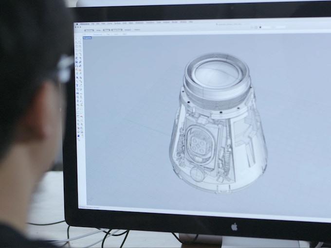 CAD Model of the Waylens Camera Internals