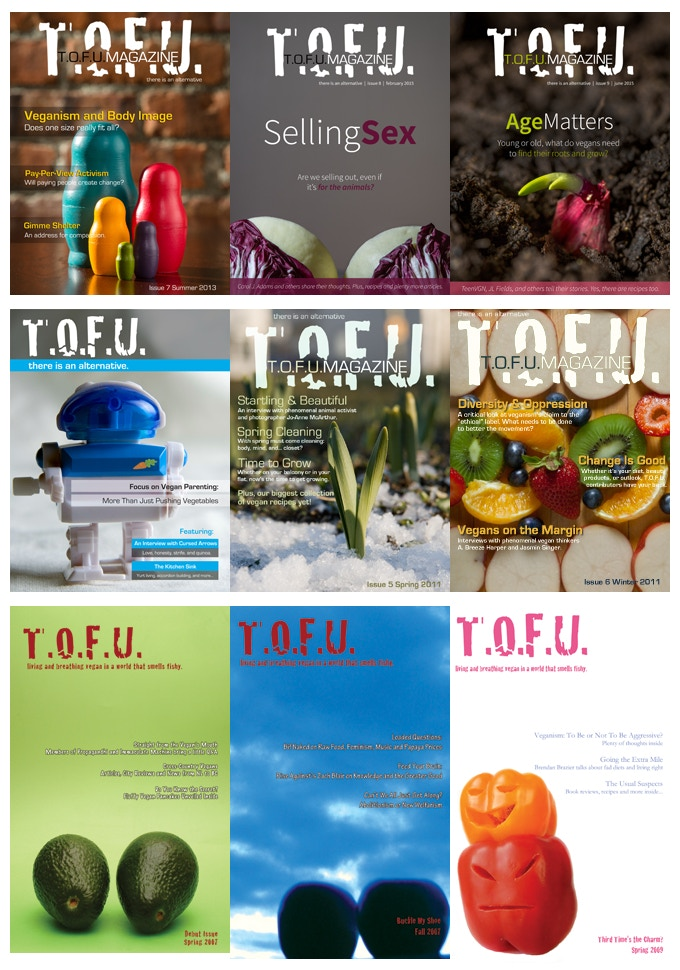 The Past Issues of T.O.F.U.