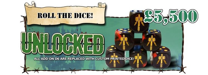 All Dice Packs upgraded with Custom Printed D6! Corporal and above get x2 free basic D6. Sergeant and above get x2 free printed D6.
