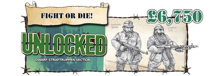 Dwarf Straftruppen Section Unlocked!
