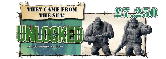 Orc Commandos Section Unlocked!