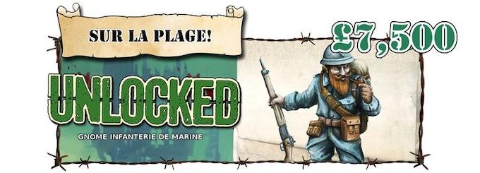 Gnome Infanterie de Marine Section Unlocked!