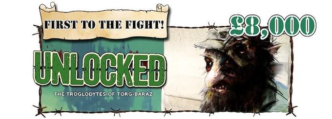 Troglodytes of Tôrg Baraz unlocked!