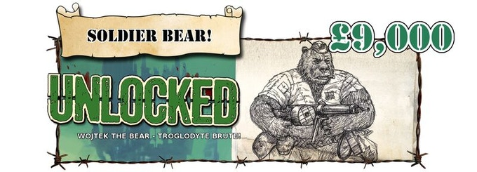 Wojtek the Bear now available as an add on, or may be selected as one (or more) of your free Brutes!