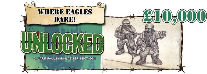 Dwarf Fallschirmjaeger Unlocked!