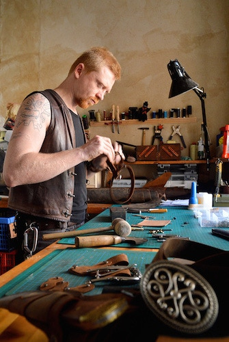 Craftsman at work, creating your things