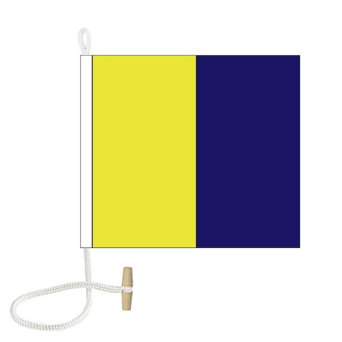 Remember signalling via flags!