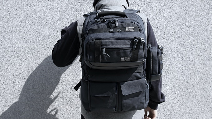 Tactical City Pack with Tactical City Pouches in navy