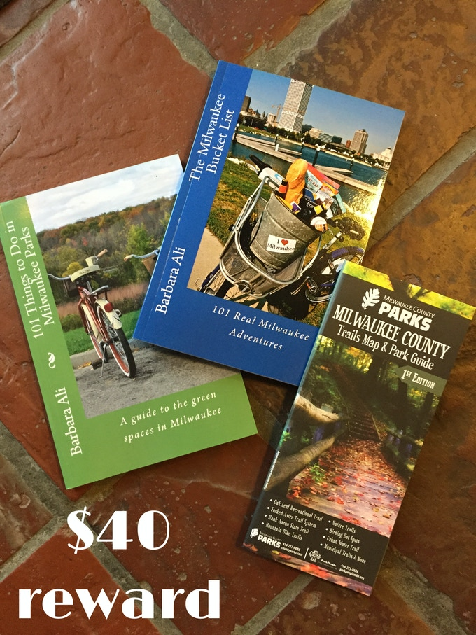 Milwaukee County Adventure Package from local author Barbara Ali, $40 reward