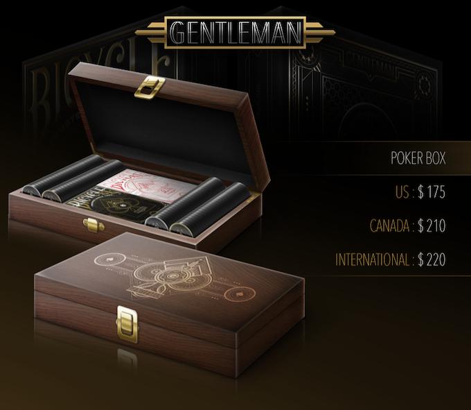 Rosewood Poker Box Set