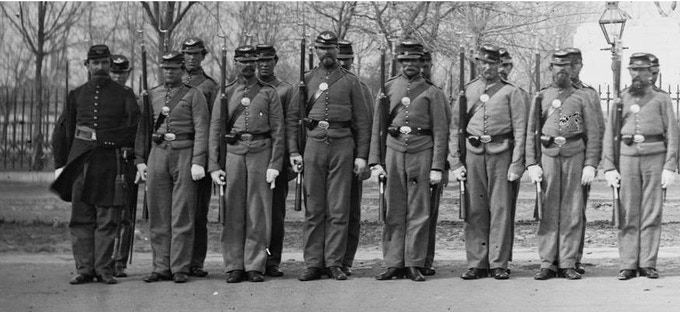 10th Veteran Reserve Corps (Invalid Corps) in Washington DC