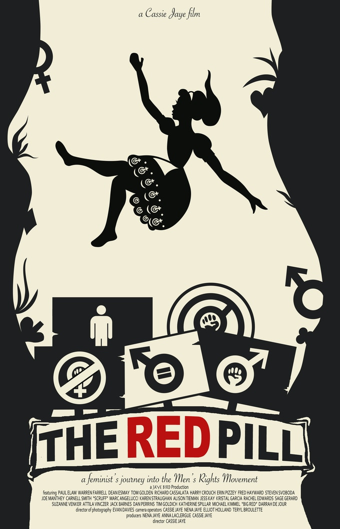 """The Red Pill"" poster artwork by Isabel Talsma"