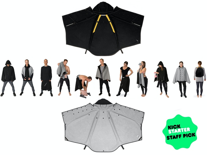 Multifunctional Rainwear that Regulates your Temperature