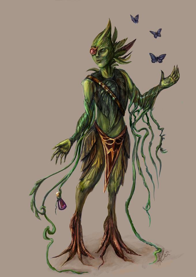 Vanda Aeirdi, Akrasi Symbiotic Experimenter