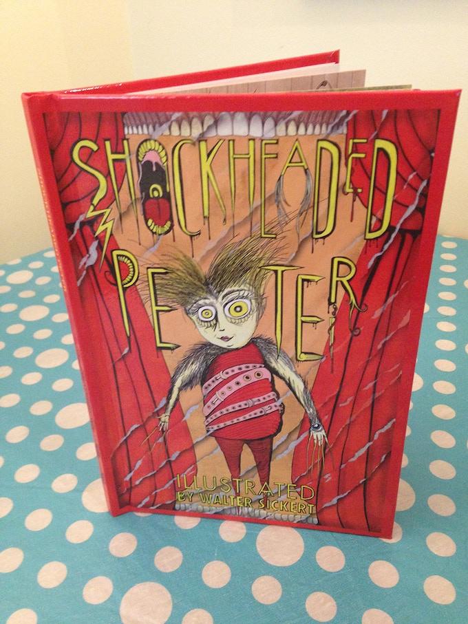 Shockheaded Peter Art Book by Walter Sickert