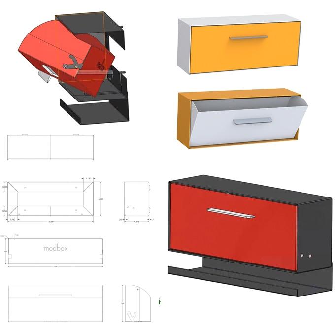 Modbox Modern Mailbox By Greg Kelly Kickstarter