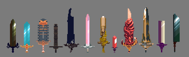 some swords!