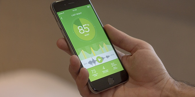 Nora's companion app offers insights into your sleep and snoring patterns.