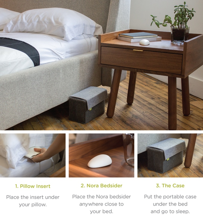Nora The Smart Snoring Solution By Smart Nora Inc