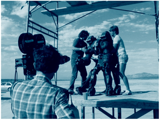 """Behind the scenes on """"ROBOT JOX"""""""