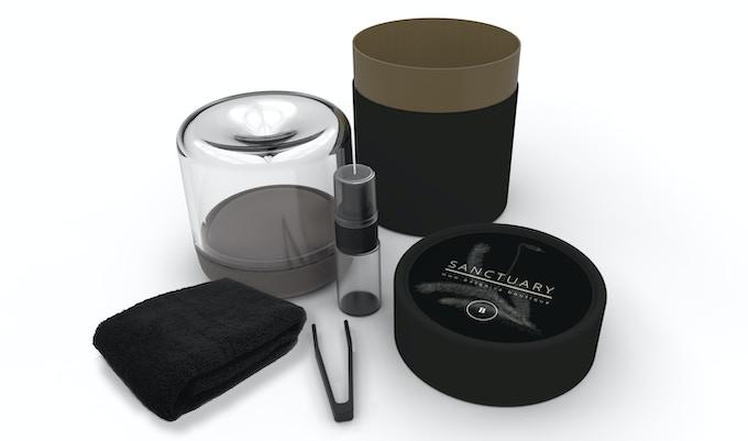 Sanctuary packaging design