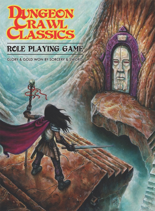 The classic DCC RPG cover