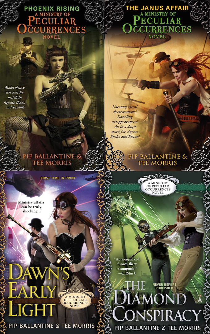 The award-winning steampunk series from Pip Ballantine & Tee Morris