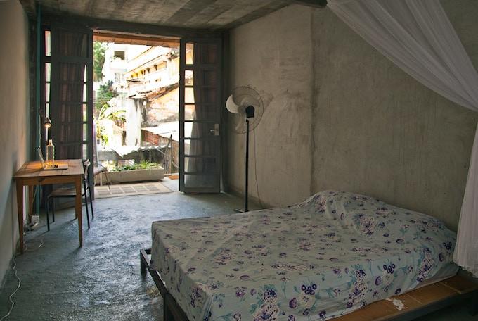 room at CAPACETE residency