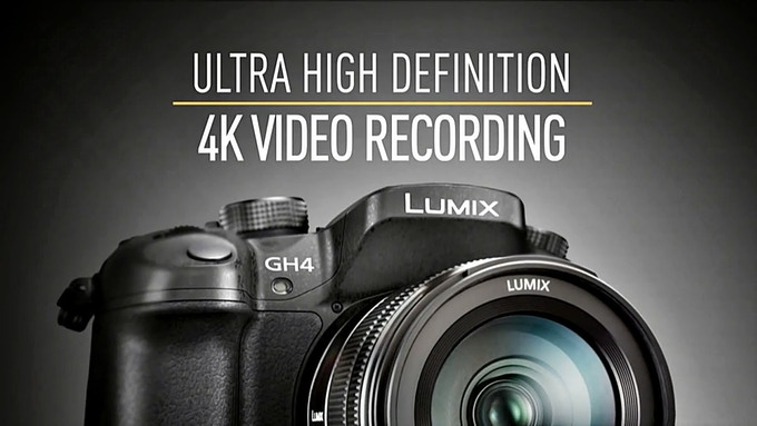 We will be filming in 4k using the Lumix GH4
