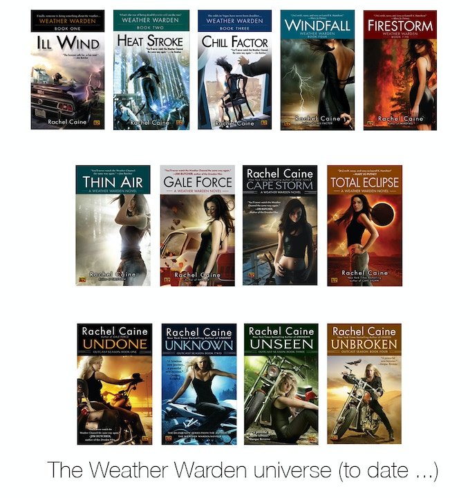 Weather Warden covers (US, to date)