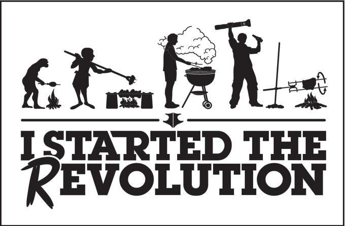You can help start the REvolution of BBQ!