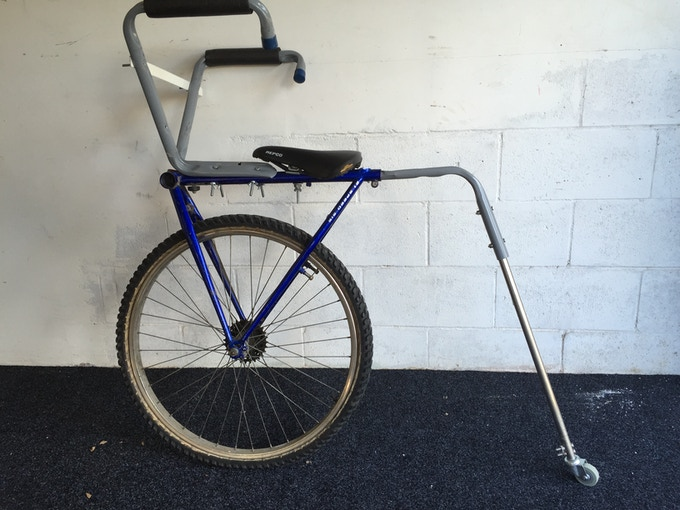 First Levicle bike prototype