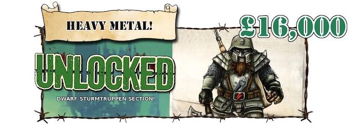 Dwarf Sturmtruppen Unlocked!