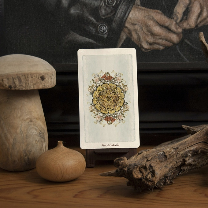 Ace of Pentacles. A beginning...