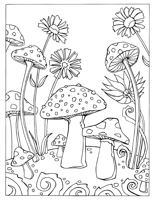 Fortuna, the Coloring Book for Adults by Jennevieve